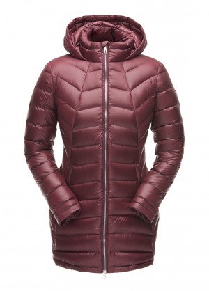 Spyder Womens Syrround Long Down Jacket - WinterWomen.com