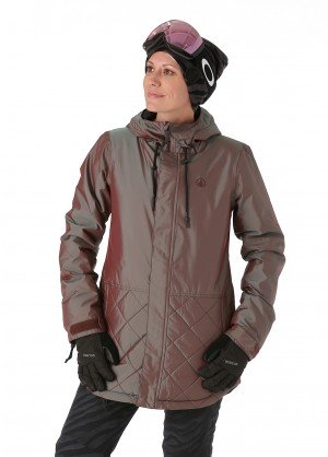Volcom Womens Winrose Insulated Jacket - WinterWomen.com